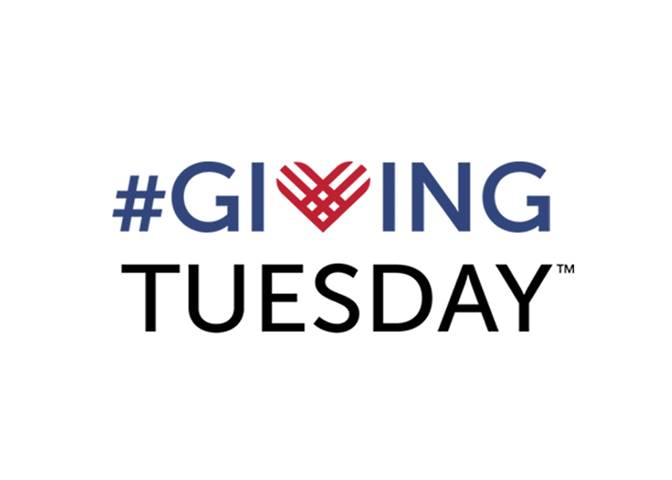 December 3: Giving Tuesday